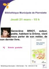 Biblio Geneviève BRIOT  Mars 2013b.jpg