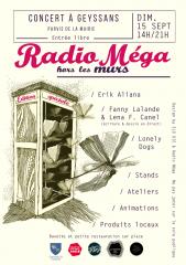 radio mega,hors les murs,bleu 31,geneviève briot,andré cohen aknin,geyssans